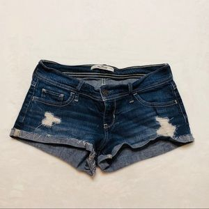 Hollister Shorts - Hollister Distressed Shorts